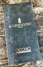 de Grisogono Occhio Instructions Manual Booklet Minute Repeater