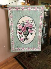 Manual Woodworkers & Weavers Cameo Bouquet Floral Tapestry and Wall Hanging