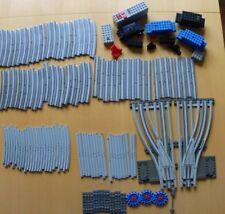 Konvolut Lego Elektro Eisenbahn 12 V Volt - Schienen Weichen und Zubehör