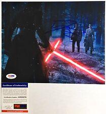 John Boyega Finn signed Autographed Auto Star Wars Force Awakens 8x10 Photo PSA