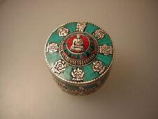 Schmuckdose du Tibet (Jewelry Metal Box)
