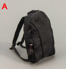1/6 Scale Soldier Accessories Model Computer Backpack Bag Shoulders Bag 2 Colors