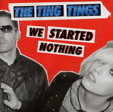 The Ting Tings - We Started Nothing (2008)  CD  NEW  SPEEDYPOST