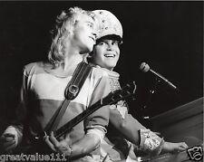 ELTON JOHN + DAVEY JOHNSTONE PHOTO 1982 UNIQUE UNRELEASED IMAGE EXCLUSIVE GEM