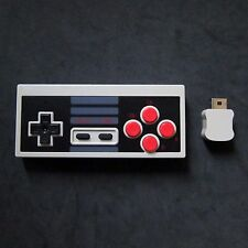 Wireless NES Classic Controller for Nintendo NES Classic Edition Mini Turbo Fire