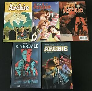 2 LIFE WITH ARCHIE 37 VARIANTS ALEX ROSS + ARCHIE + ROAD TO RIVERDALE VOL 1 TPBS