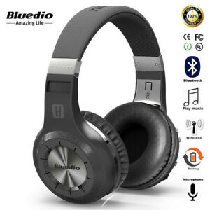 Bluedio Headset Wireless For Calls Stereo Built-in Mic Bluetooth 5.0 Headphones
