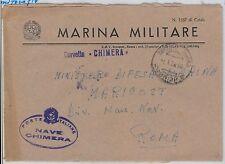 ITALIA  - FRANCHIGIA MILITARE: MARINA - Nave : CORVETTA  Chimera