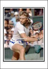 Bjorn Borg. Autographed, Cotton Canvas Image. Limited Edition (JB11)