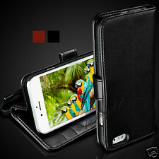 GENUINE RICH LEATHER WALLET CASE COVER FOR SASMUNG,APPLE,SONY,NOKIA,LG,HTCPHONES
