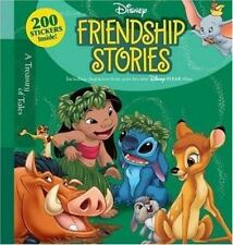 Disney FRIENDSHIP STORIES w/200 Stickers Inside! BRAND NEW HARDCOVER BOOK