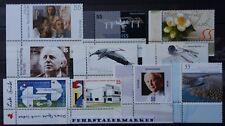 Bund Jahrgang 2004 - Auswahl - Eckrandmarken - Postfrisch - Euro - siehe Bilder