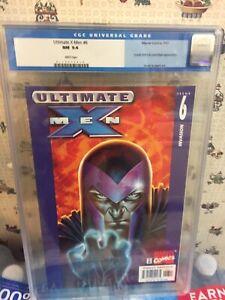 Ultimate X Men  6 CGC 9.4...THE SCOOP