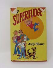 Judy Blume SUPERFUDGE 1st Printing HB/DJ