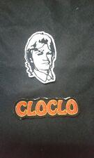 Patch / Ecusson CLAUDE FRANCOIS CLOCLO LOT DE 2