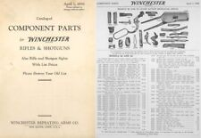 Winchester 1938 Component Parts Catalog