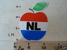 STICKER,DECAL NL APPEL NEDERLANDSE VLAG,