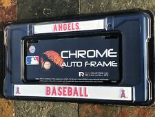 1 Los Angeles Angels Navy Blue Metal License Frame wNice Raised 3D Graphics