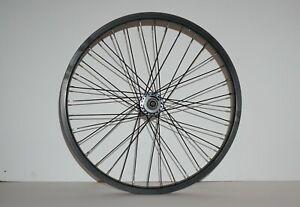 "Weinmann 20/"" x 2.125 Alloy WheelSet 3//8/"" Front 14mm Rear Axle 9T Drive BMX Bike"