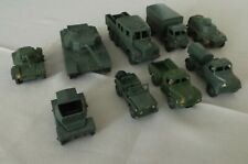 Dinky England lot 9 véhicules militaires