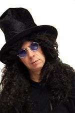 HARD rocker-slash-heavy METAL ROCK STAR CAPPELLO, PARRUCCA e specifiche Costume Set