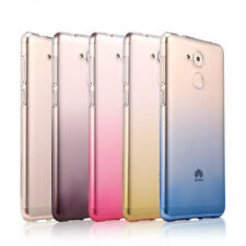 For Huawei Honor 6A 6C pro 6X Y7prime Ultra Thin Gradient Clear Gel Case cover