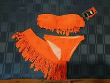 Maillot de bain  orange 85B taille S 36 Lili et Zoé
