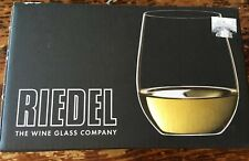 RIEDEL THE O WINE TUMBLER VIOGNIER/CHARDONNAY Glass  Set of 2
