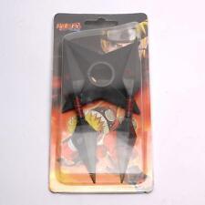 Cosplay Naruto Ninja kunai Coltello plastico Village di lanciare Stella 3PZ