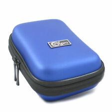 Ex-Pro® Blue Hard Clam MED Camera  Case for canon Powershot  Ixus SX210 IS