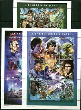MALI 1997 STAR WARS MOVIES MINT COMPLETE SET OF 27 STAMPS IN 3 SHEETS!