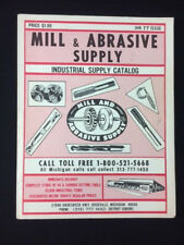 1977 MILL & ABRASIVE SUPPLY CATALOG CUTTING TOOLS & MACHINE SHOP ACCESSORIES