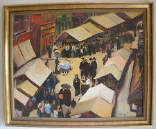 Wochenmarkt, Ölgemälde, Pfalz, Neustadt, Landau, Weinstrasse, Kurpfalz,Speyer