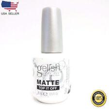 Nail Harmony Soak Off Matte Top It Off Gel Nail Polish 0.5 fl oz 15ml
