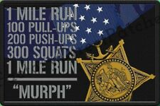 "GORUCK, Spartan, CrossFit , Military, Navy SEAL ""Murph"" Morale Patch"