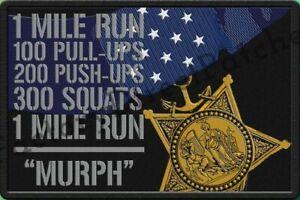 "GORUCK, Spartan, CrossFit , Military, Navy SEAL ""MOH Murph"" Morale Patch"