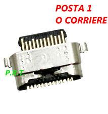 CONNETTORE RICARICA USB PER Motorola Moto G7 PLAY SOCKET TIPO C