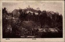 Bad Iburg Niedersachsen Postkarte 1920 Schloss Verlag Rennert gelaufen frankiert