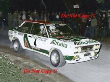 MARKKU ALEN ALITALIA FIAT 131 ABARTH Vincitore Rally Portogallo 1978 fotografia 3