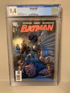 DC Batman #664 CGC 9.4 NM Grant Morrison