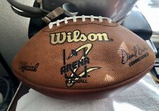 Official Afl2 Arena League Football 2 game ball Wilson Ironman Rare Vintage Usfl
