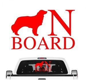 Kooikerhondje On Board Auto Aufkleber Hund Folie Kooiker Hound