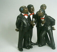 6 Teilig Kunststein 60 Miniatur Figuren 10 New Orleans Jazz Band Figuren Set´s