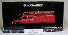 """Minichamps 1/43: 439141070 MAGIRUS-DEUTZ MERCUR TLF 16 """" Pompieri Ulm """""""