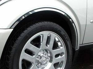 6PC Stainless Steel Wheel Well Accent Trim - WQ47940 For DODGE NITRO 2007-2011