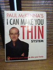 Paul McKenna I Can Make You Thin System 4 Cds Box Set