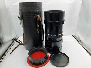 MTO 1000A 1100mm F/10.5 M42 Reflex Mirror Super Telephoto Lens with Case