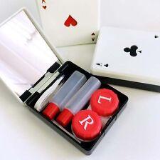 Travel Health 1 Pcs Mini Case Contact Lens Container Random Color Pocket Poker
