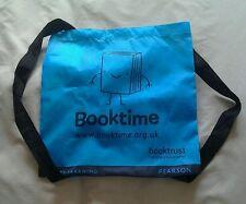 Childrens Booktime Booktrust Blue bag
