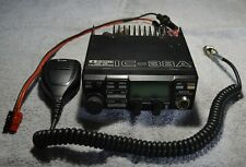 ICOM IC-38A VHF FM TRANSCEIVER WITH HM-12 MICROPHONE AND MOUNTING BRACKET